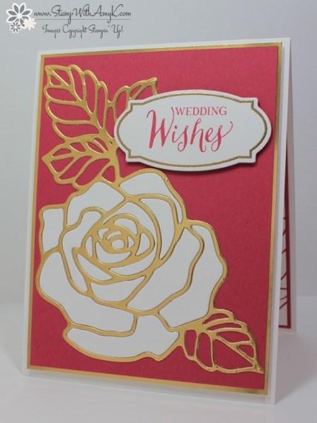Rose Wonder - Stamp With Amy K