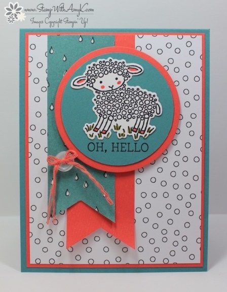 Easter Lamb - Stamp With Amy K
