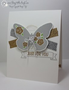 Floral Wings 2 - Stamp With Amy K