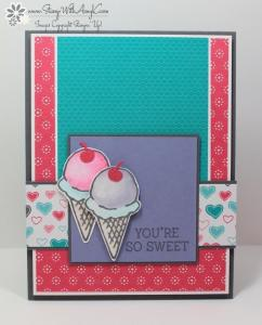 Honeycomb Happiness 2 - Stamp With Amy K