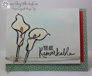Remarkable You 2 - Stamp With Amy K
