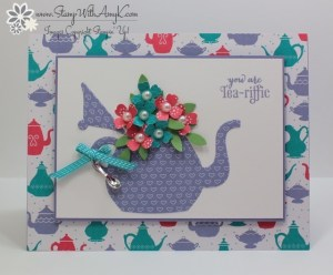 A Nice Cuppa 1 - Stamp With Amy K