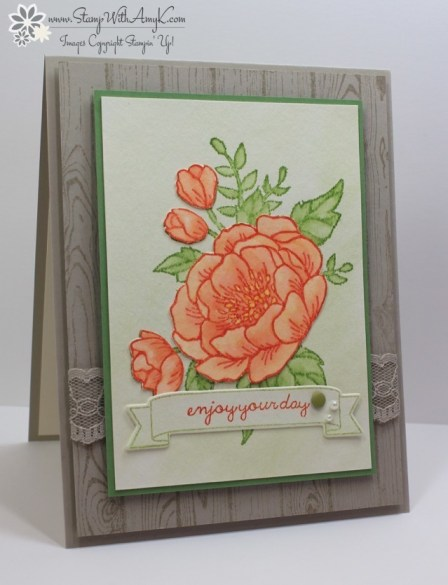 Birthday Blooms - Stamp With Amy K