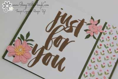 Botanicals For You 3 - Stamp With Amy K