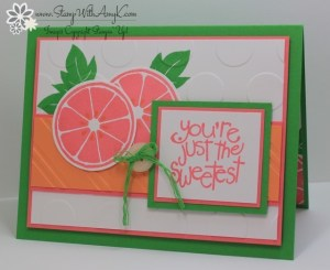 Apple of My Eye 1 - Stamp With Amy K