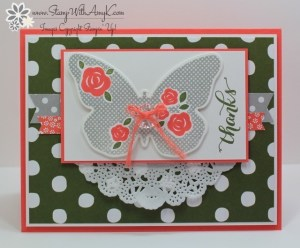 Floral Wings 1 - Stamp With Amy K