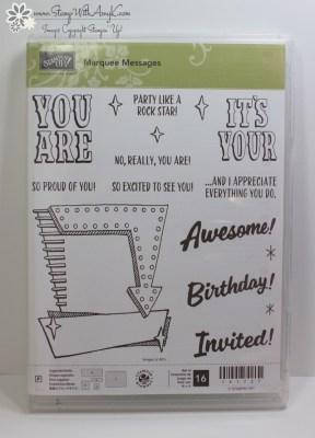 Marquee Messages 4 - Stamp With Amy K