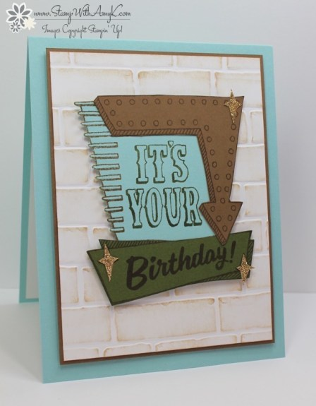 Marquee Messages - Stamp With Amy K