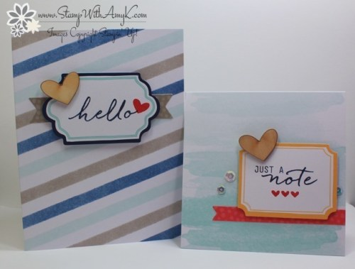 Watercolor Wishes 5 - Stamp With Amy K