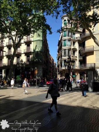 Barcelona - Stamp With Amy K