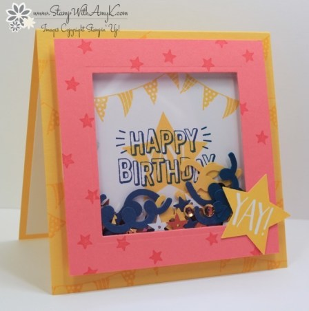 Confetti Celebration - Stamp With Amy K