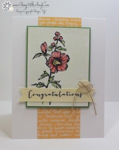 Fabulous Flora 1 - Stamp With Amy K