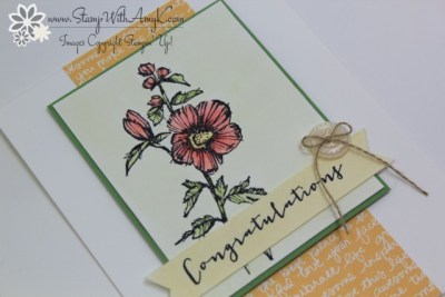 Fabulous Flora 3 - Stamp With Amy K
