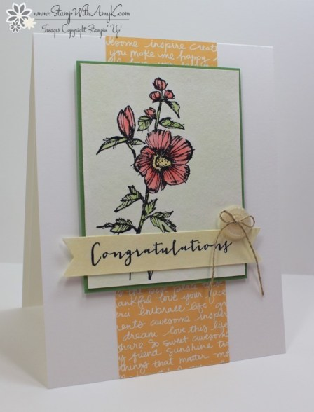 Fabulous Flora - Stamp With Amy K