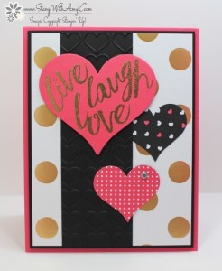 Layering Love 1 - Stamp With Amy K