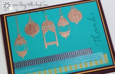 Moroccan Nights 3 - Stamp With Amy K