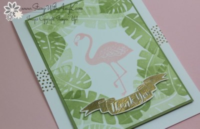Pop of Paradise 3 - Stamp With Amy K