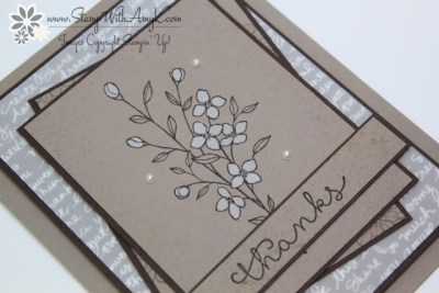 Touches of Texture 3 - Stamp With Amy K