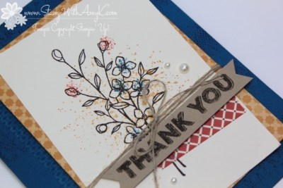 Touches of Texture 6 - Stamp With Amy K