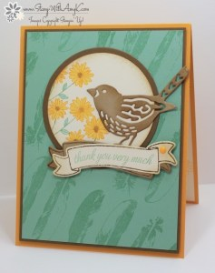 Basket For You 2 - Stamp With Amy K