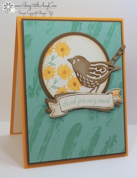 Basket For You - Stamp With Amy K