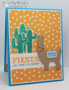 Birthday Fiesta 2 - Stamp With Amy K
