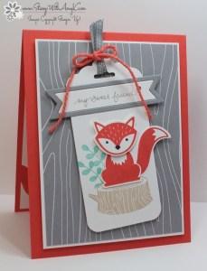 Foxy Friends 1 - Stamp With Amy K