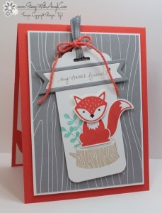 Foxy Friends 1 - Stamp With Amy K