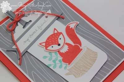 Foxy Friends 3 - Stamp With Amy K