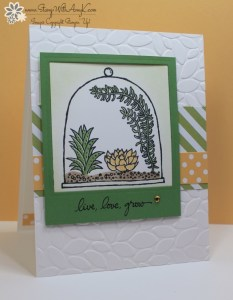 Live, Love, Grow 2 - Stamp With Amy K