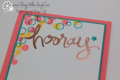 Playful Backgrounds 3 - Stamp With Amy K
