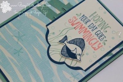 Seaside Shore 3 - Stamp With Amy K