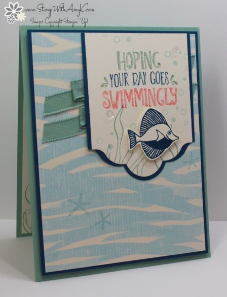 Seaside Shore - Stamp With Amy K