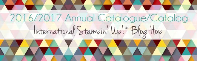 Stampin' Up! Annual Catalog Blog Hop