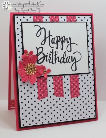 Stylized Birthday - Stamp With Amy K