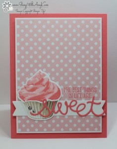 Sweet Cupcake 1 - Stamp With Amy K