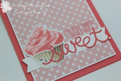 Sweet Cupcake 3 - Stamp With Amy K