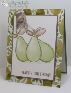 Fresh Fruit 2 - Stamp With Amy K