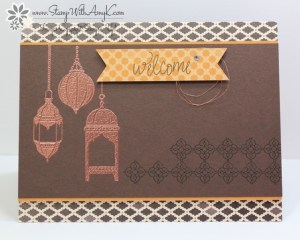Moroccan Nights 1 - Stamp With Amy K