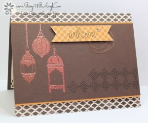 Moroccan Nights 2 - Stamp With Amy K