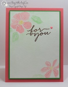Penned & Painted 1 - Stamp With Amy K