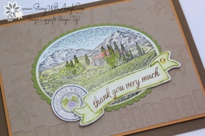 Tuscan Vinyard 3 - Stamp With Amy K