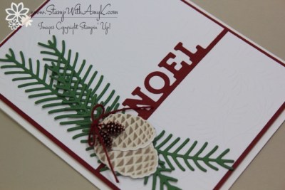 Christmas Pines 3 - Stamp With Amy K