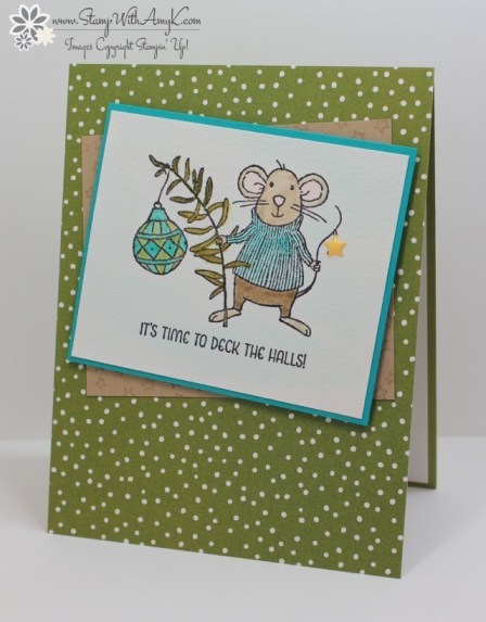 Merry Mice - Stamp With Amy K