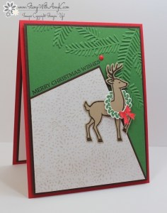 Santa's Sleigh 2 - Stamp With Amy K