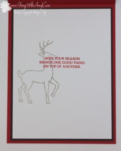 Santa's Sleigh 4 - Stamp With Amy K