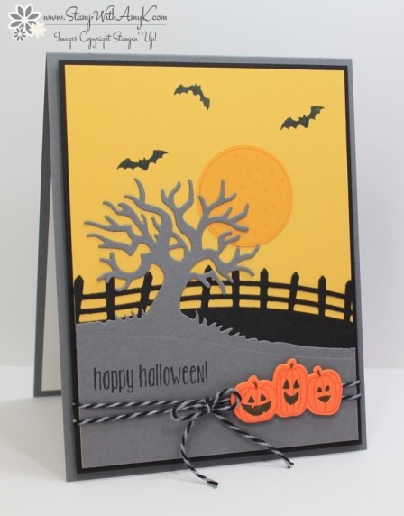 Spooky Fun - Stamp With Amy K