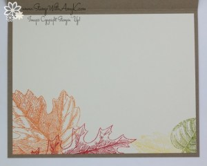 Vintage Leaves 4 - Stamp With Amy K
