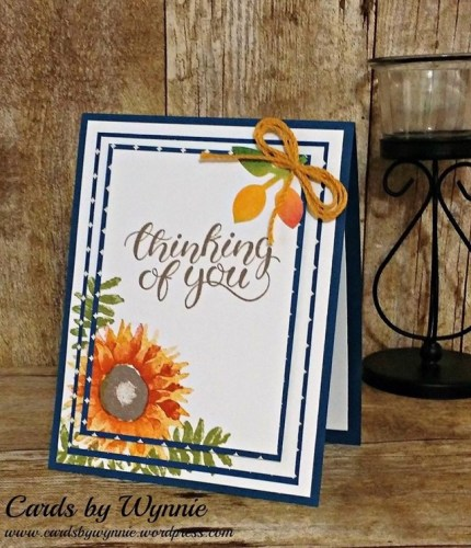 Stampin' Up! Painted Harvest and Count My Blessings