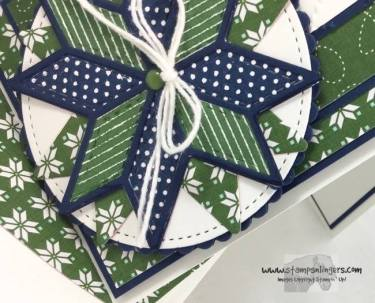 Stampin' Up! Christmas Quilt